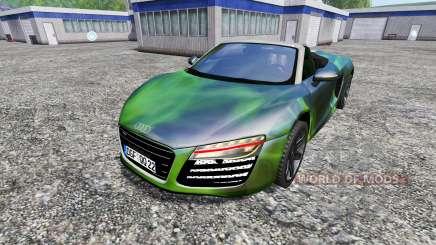 Audi R8 Spyder [NOS] for Farming Simulator 2015