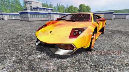 Lamborghini Murcielago LP 670-4 SuperVeloce for Farming Simulator 2015
