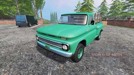 Chevrolet C10 Fleetside 1966 [custom] for Farming Simulator 2015