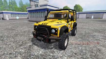 Land Rover Defender 90 for Farming Simulator 2015