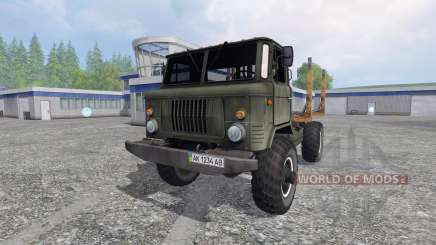 GAZ-66 v2.0 for Farming Simulator 2015