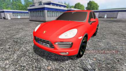 Porsche Cayenne 2013 for Farming Simulator 2015