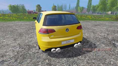 Volkswagen Golf VII v1.3 for Farming Simulator 2015