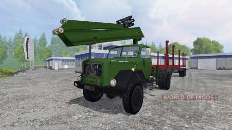 Magirus-Deutz 200D26 1964 [forest] for Farming Simulator 2015