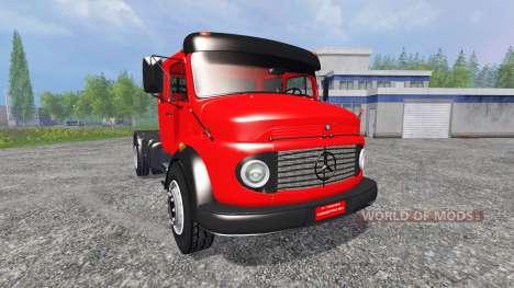 Mercedes-Benz 1519 for Farming Simulator 2015