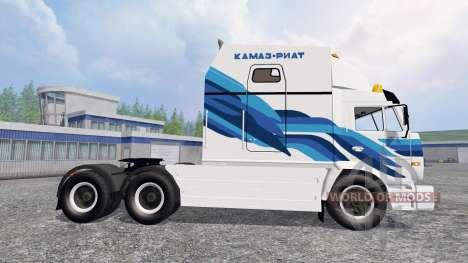 KamAZ-54112 RIAT v2.0 for Farming Simulator 2015