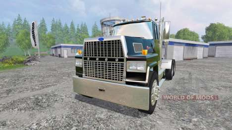 Ford L9000 [black] for Farming Simulator 2015