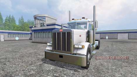 Peterbilt 379 [daycab] for Farming Simulator 2015