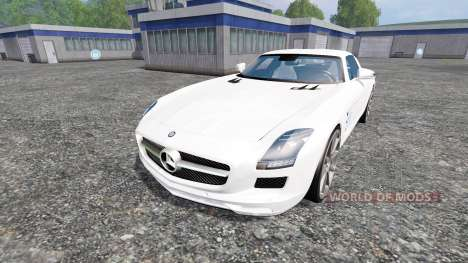Mercedes-Benz SLS AMG for Farming Simulator 2015