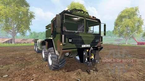 MAN KAT2 [agricultural] v2.0 for Farming Simulator 2015