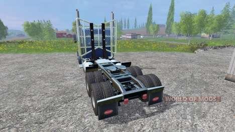 Peterbilt 379 2007 v1.1 for Farming Simulator 2015