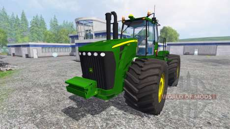 John Deere 9630 v4.0 for Farming Simulator 2015
