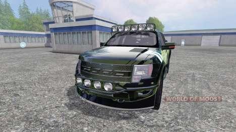 Ford F-150 Raptor [Halo Edition] v1.1 for Farming Simulator 2015