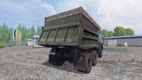 KamAZ-55111 v4.0 for Farming Simulator 2015