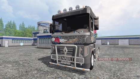 Renault Magnum [vega route 66] for Farming Simulator 2015
