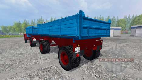 Magirus-Deutz 200D26 1964 [tipper] v1.1 for Farming Simulator 2015
