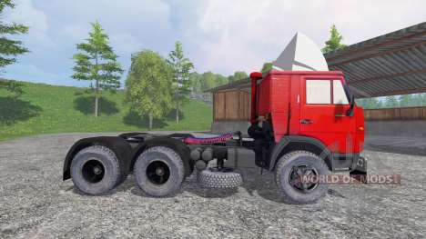 KamAZ 5410 v1.2 for Farming Simulator 2015
