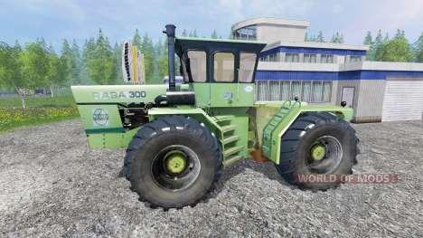 RABA Steiger 300 for Farming Simulator 2015