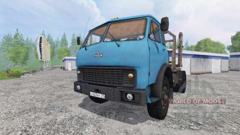 MAZ-509 v1.2 for Farming Simulator 2015