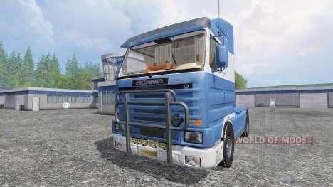 Scania 143M for Farming Simulator 2015