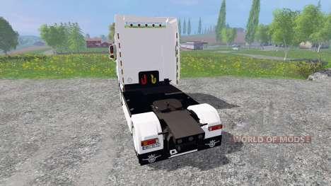 DAF XF105 for Farming Simulator 2015