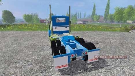 Kenworth W900L for Farming Simulator 2015