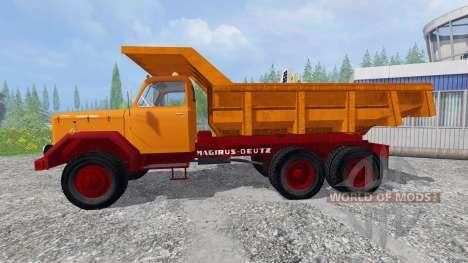 Magirus-Deutz 200D26 1964 [tipper] for Farming Simulator 2015