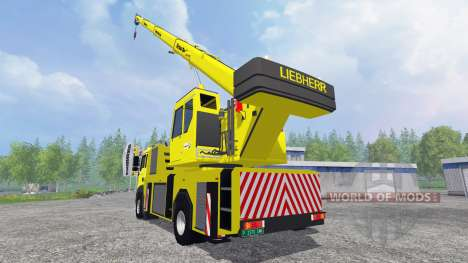 MAN TGA [crane] for Farming Simulator 2015