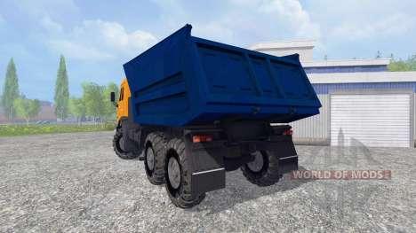 KamAZ-55111 2007 for Farming Simulator 2015