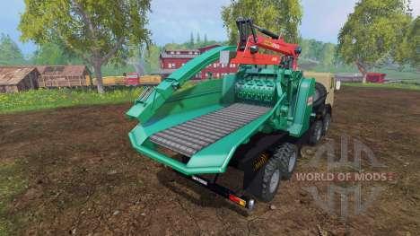KamAZ-6350 [JENZ] for Farming Simulator 2015
