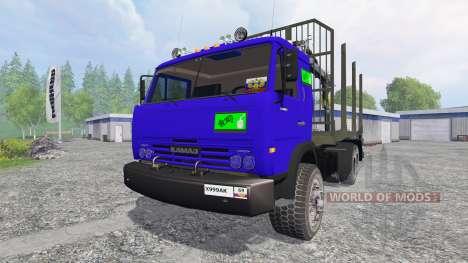 KamAZ-54115 [the truck] v1.0 for Farming Simulator 2015
