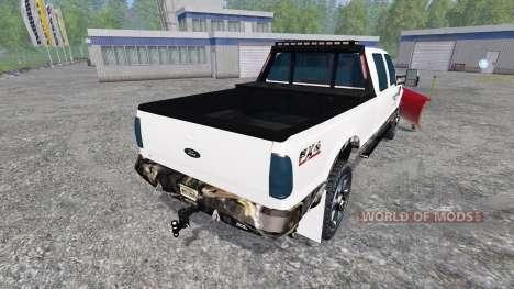 Ford F-250 [plow] for Farming Simulator 2015
