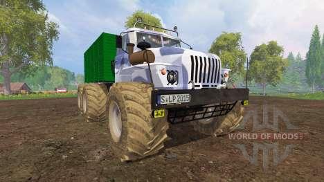 Ural-4320 [big wheels] for Farming Simulator 2015