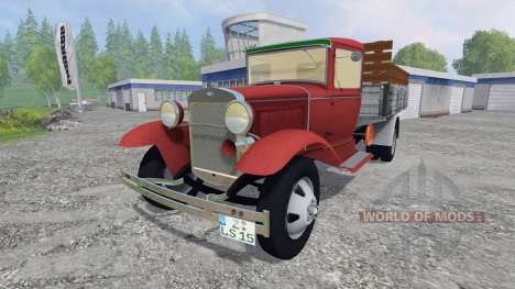 Ford Model AA [pack] for Farming Simulator 2015