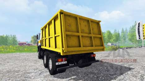 MAZ-5516 v2.0 for Farming Simulator 2015