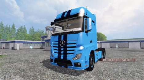 Mercedes-Benz Actros MP4 v1.1 for Farming Simulator 2015