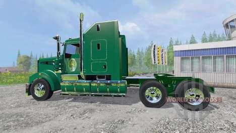 Kenworth T908 [John Deere] for Farming Simulator 2015