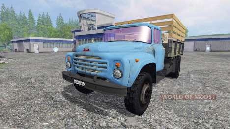 ZIL-130 [the silo] for Farming Simulator 2015