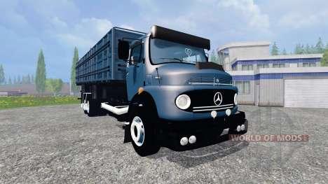 Mercedes-Benz 1513 [multicolored] for Farming Simulator 2015