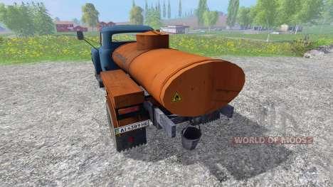 GAZ-53 [fuel] v2.0 for Farming Simulator 2015