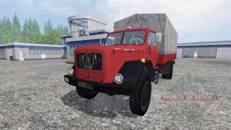 Magirus-Deutz 200D26 1964 [feuerwehr] for Farming Simulator 2015
