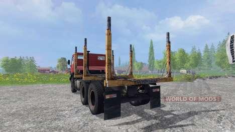 KamAZ 55102 [timber] for Farming Simulator 2015