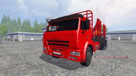 KamAZ-65117 [timber] for Farming Simulator 2015