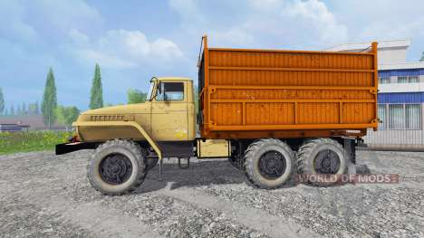 Ural-5557 v1.1 for Farming Simulator 2015