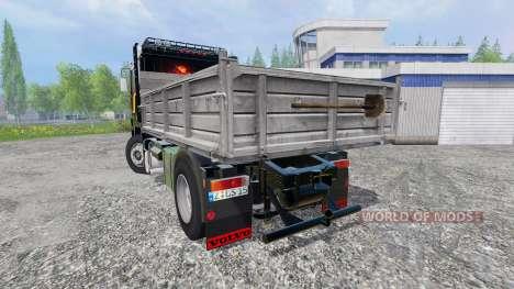 Volvo F12 [kipper] for Farming Simulator 2015