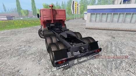 KamAZ 5410 v1.0 for Farming Simulator 2015