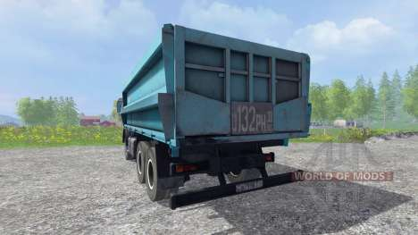 KamAZ-45143 v1.1 for Farming Simulator 2015