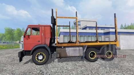 KamAZ 55102 [Forester] for Farming Simulator 2015