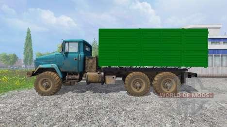 The KrAZ-6322 v1.2 for Farming Simulator 2015