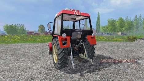 Zetor 7211 v1.0 for Farming Simulator 2015